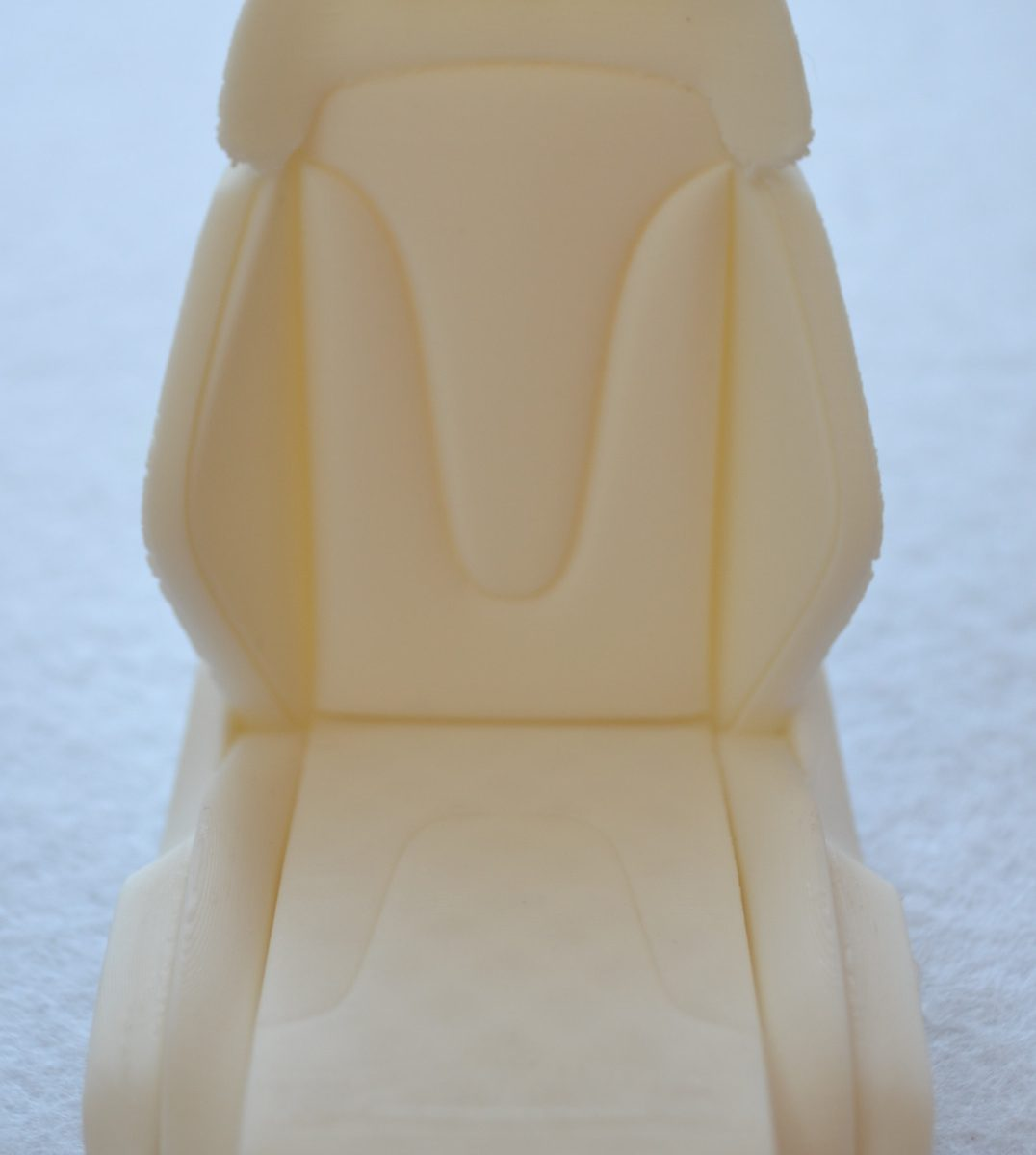Impression en PLA blanc